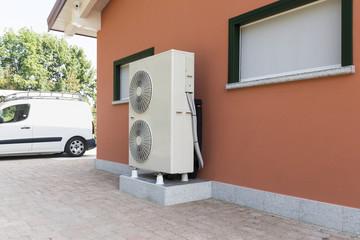 Mitsubishi heat pump